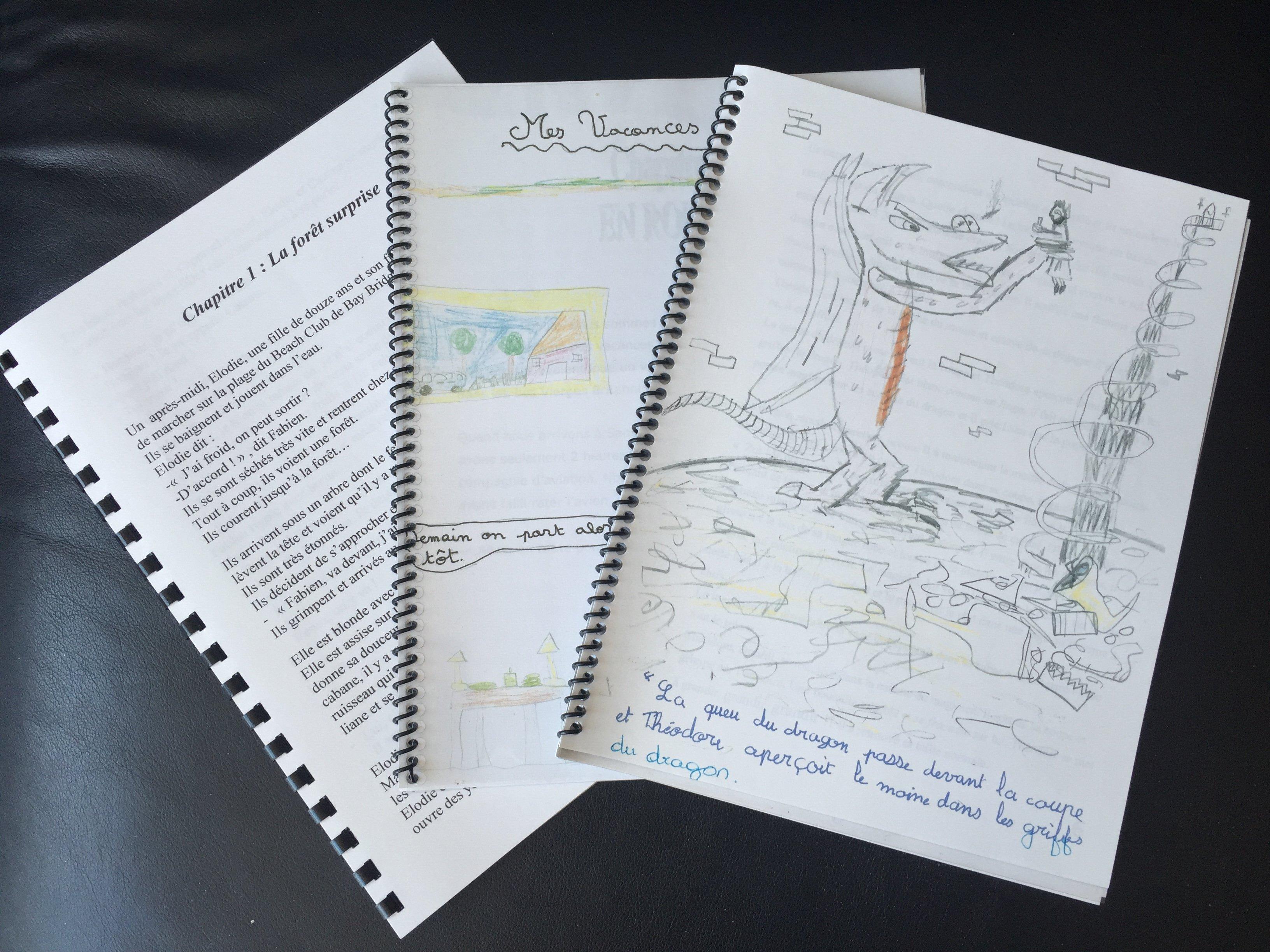 La traversee de l'enfant lecteur-auteur